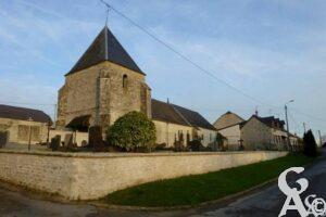 L'église - Contributeur : Danièle Oudin
