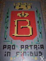 Blason de Bohain- Hall du collège Henri Matisse - Contributeur : N. Debreux