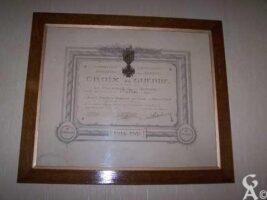 Croix de Guerre attribuée à la commune - Contributeur : S. Sartori