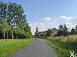 Route d'Abbécourt à Manicamp  - Contributeur : S Sartori
