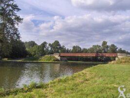 Le canal route d'Abbécourt à Manicamp - Contributeur : S Sartori