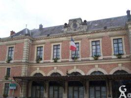 La verrière de la mairie  - Contributeur : S Sartori