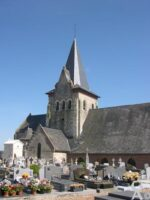 L'église vue du cimetière - Contributeur : Natty