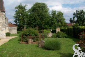Vue sur le cimetière - Contributeur : Sébastien Sartori