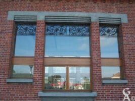 Une fenêtre du foyer Carnégie - Contributeur : Sébastien Sartori