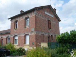 La gare réhabilitée en logements - Contributeur : M.Trannois
