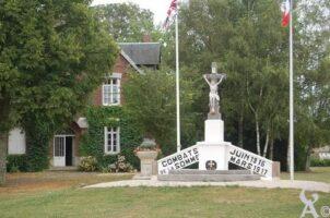Monument : Combats de la Somme Juin 1916 - Mars 1917. - Contributeur : Maryse Trannois.