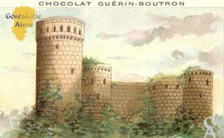 Publicité - Chocolat  Guérin - Bouton - Contributeur : M Trannois