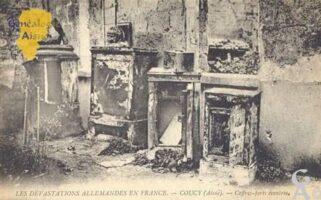 Les dévastations allemandes en France - Contributeur : M Trannois