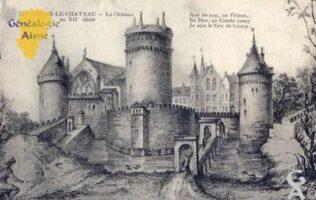 Le château au XIIIéme siècle  - Contributeur : M Trannois