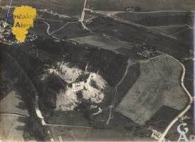 Château de Coucy après sa destruction  - Contributeur : M Trannois