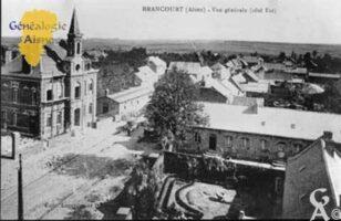 Vue générale : côté est - Contributeur : Mairie de Brancourt le Grand