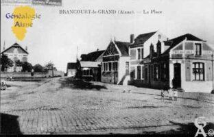 La place - Contributeur : Mairie de Brancourt le Grand