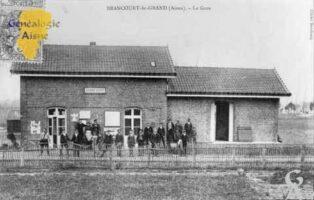 La gare - Contributeur : Mairie de Brancourt le Grand