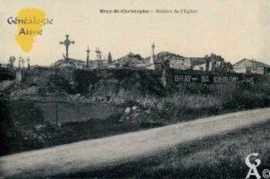 Ruines de l'église. - Contributeur : Chantal Burlot