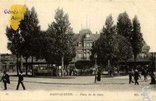 Place de la Gare - Contributeur : Christiane Brenu