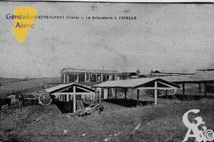 La briqueterie en 1926 - Contributeur : Jean Claude Menu