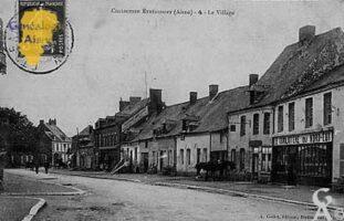 Le village en 1910 - Contributeur : Jean Claude Menu