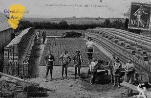 La briqueterie en 1907 - Contributeur : Jean Claude Menu