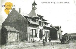 La Mairie et l' école - Contributeur : Marie Madeleine Telotte