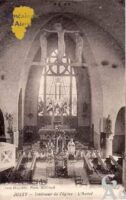 L'intérieur de l'église - l'autel - Contributeur : Monique Séverin