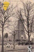 L'église le jour des Rameaux - Contributeur : Monique Séverin
