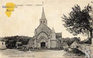 Environs de Colligis - L'église - Contributeur : Nadine Gilbert