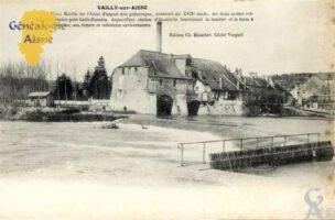 Vieux moulin sur l'Aisne d'aspect très pittoresque, construit au XVIIé siècle. - Contributeur : Nadine Gilbert