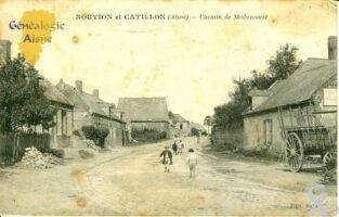 Chemin de Mesbrecourt - Contributeur : Michel Bonneroy