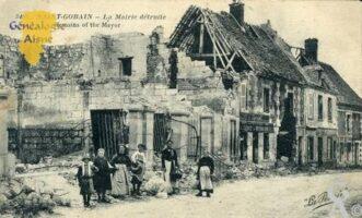 La Mairie détruite - Contributeur : Michel Bonneroy