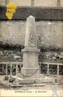 le monument aux morts. - Contributeur : Source : Express - Visé Paris. Contr : Sébastien Sartori.