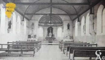 l'intérieur de l'église - Contributeur : Jean Marie Lefèvre