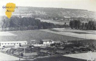 1945 - camp de prisonniers allemands. - Contributeur : Jean Marie Lefèvre