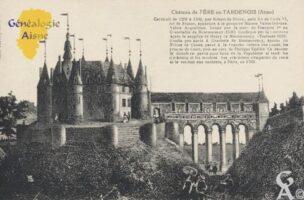Le château de Fère-en-Tardenois fut construit de 1206 à 1260 par Robert de Dreux, petit-fils de Louis VI le Gros, roi de France. Il appartint à la première maison Valois-Orléans, Valois-Angoulême - Contributeur : Stéphanie Peyrichou.