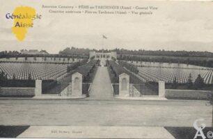 le cimetière américain - Contributeur : Stéphanie Peyrichou.