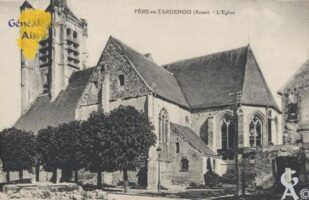 l'église - Contributeur : Stéphanie Peyrichou.