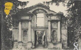 Ruines du château. - Contributeur : Stéphanie Peyrichou.