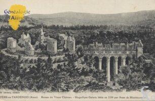 Ruines du château, magnifique galerie construite en 1539 par Anne de Montmorency. - Contributeur : Stéphanie Peyrichou.