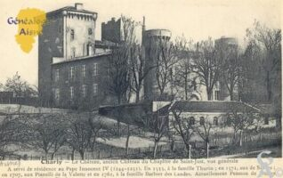 Ancien château du Chapitre de Saint-Just. A servi de résidence au Pape INNOCENT IV (1244-1251). En 1553, à la famille Thurin,; en 1571, aux de Sévres; en 1707, aux Pianelli de la Valette et en 1761, à la famille Barbier des Landes. Actuellement Pension de Dames.   - Contributeur : Sébastien Sartori