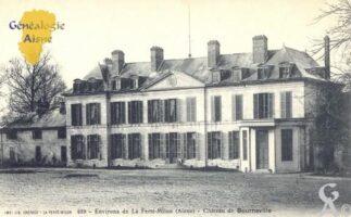 environs de La Ferté Milon, château de Bourneville.  - Contributeur : Carte postale Sébastien Sartori