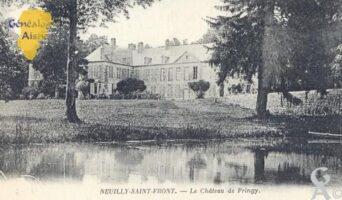 château de Pringy. - Contributeur : Carte postale Sébastien Sartori
