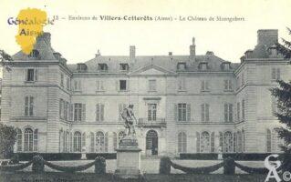 Château de Montgobert - Contributeur : Carte postale : Sébastien Sartori