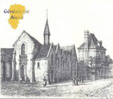 Eglise, et les restes du Château.  - Contributeur : Carte postale : Sébastien Sartori