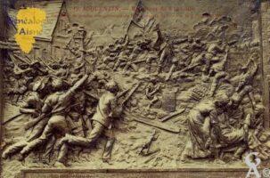 Monument Commémoratif du 8 Octobre. - Contributeur : Carte postale : Sébastien Sartori