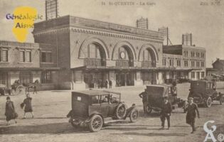 la Gare en 1932 - Contributeur : Jean Claude Huvier