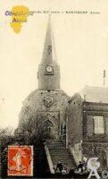 église avec portail du XIIé siècle. - Contributeur : N.Pryjmak