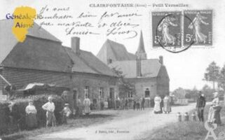 Petit Versailles  - Contributeur : Carte postale - collection Christiane Wery.