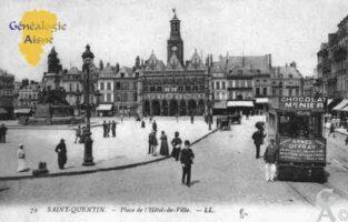 la place de l'Hotel de Ville. - Contributeur : Sébastien Sartori