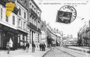 le haut de la rue d'Isle - Contributeur : Sébastien Sartori