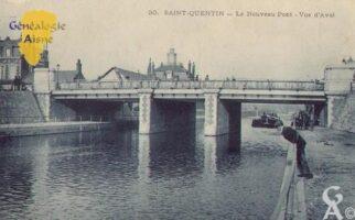 le nouveau pont - Vue d'aval - Contributeur : Guy Gilkin